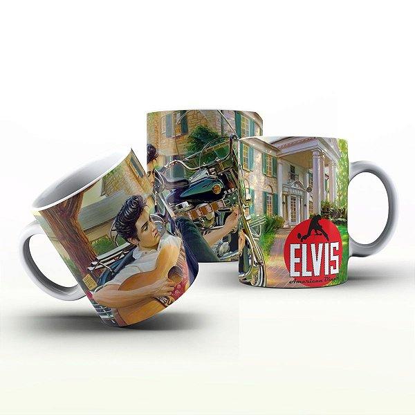 Caneca Personalizada Bandas  - Elvis Presley