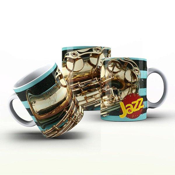 Caneca Personalizada Bandas  - Jazz