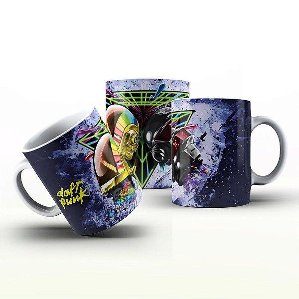 Caneca Personalizada Bandas - Darft Punk