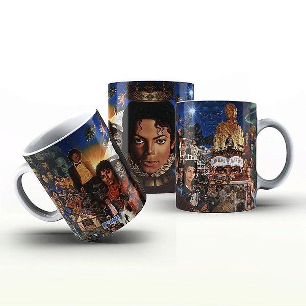 Caneca Personalizada Bandas - Michael Jackson