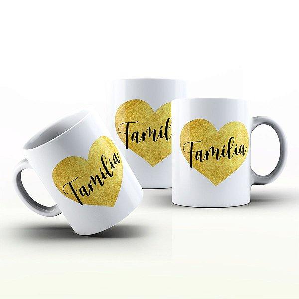 Caneca Personalizada Frases  - Família