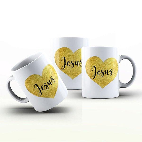 Caneca Personalizada Frases  - Jesus