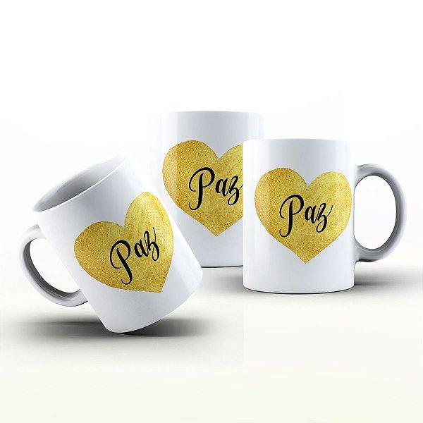 Caneca Personalizada Frases  - Paz