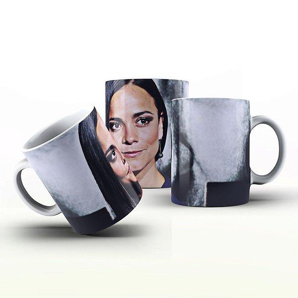 Caneca Personalizada Celebridades  - Alice Braga