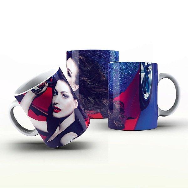 Caneca Personalizada Celebridades  - Anne Hathaway