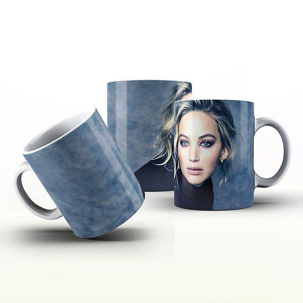 Caneca Personalizada Celebridades  - Jennifer Lawrence