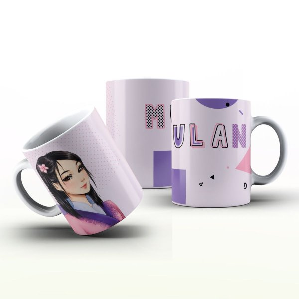 Caneca Personalizada  - Mulan