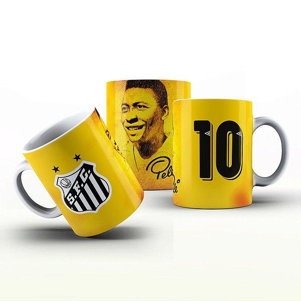 Caneca Personalizada Futebol  - Pelé