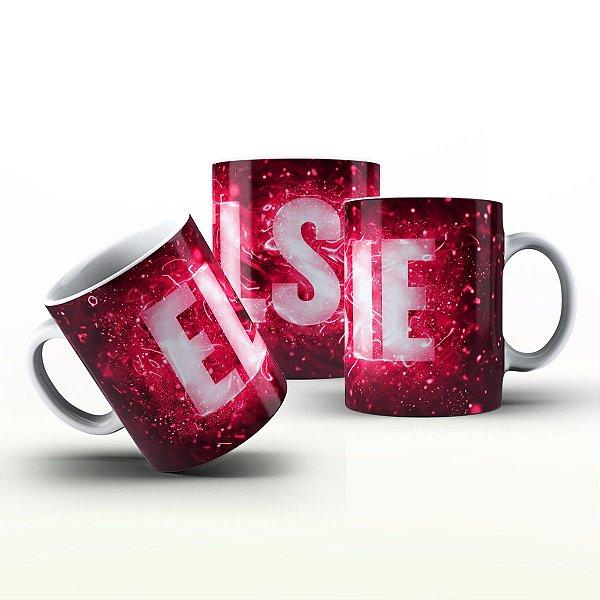 Caneca Personalizada X Tudo - Elsie