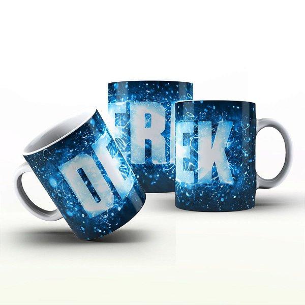 Caneca Personalizada X Tudo - Derek