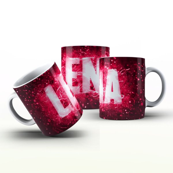 Caneca Personalizada X Tudo - Lena