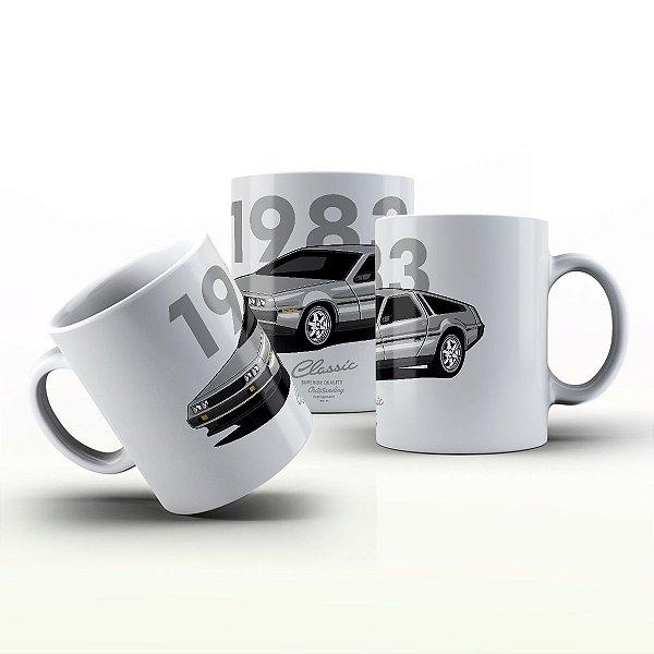 Caneca Personalizada Automóveis  - DMC Delorean