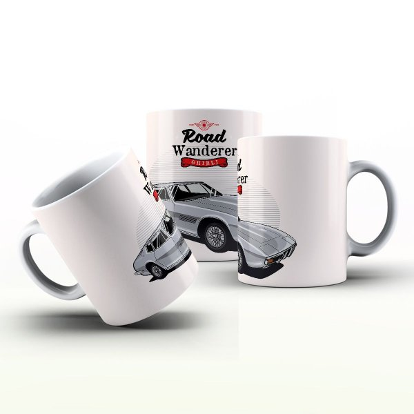 Caneca Personalizada Automóveis  - Ghbil Maserati