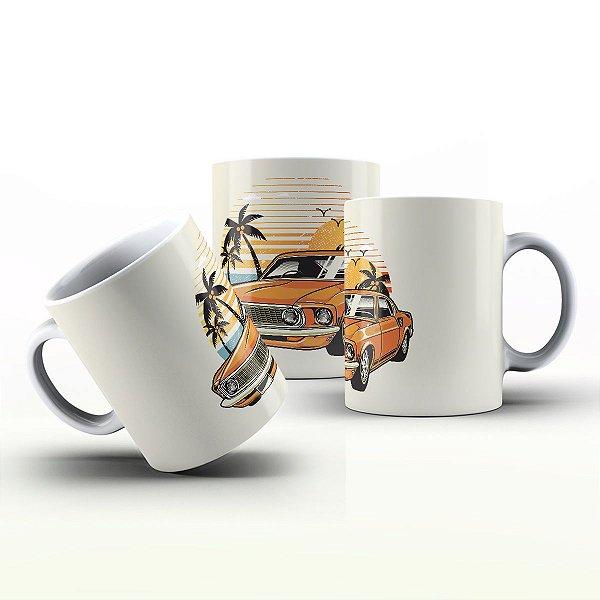 Caneca Personalizada Automóveis  - Mustang Verão