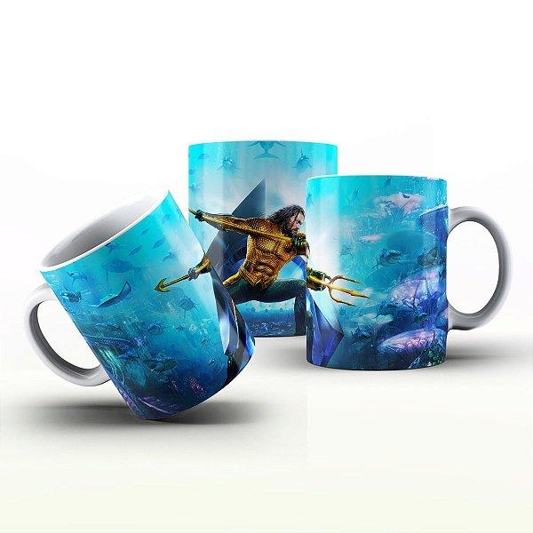 Caneca Personalizada Heróis  - Aquaman