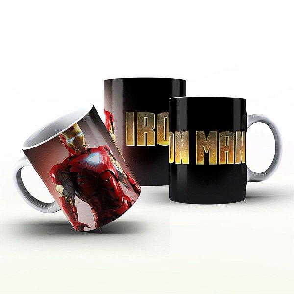 Caneca Personalizada Heróis  - Homem de Ferro 5