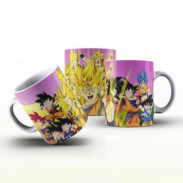 Caneca Personalizada Heróis  - Mangá Dragon Ball