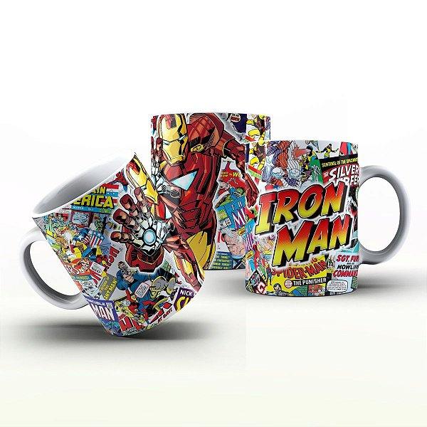 Caneca Personalizada Heróis  - Iron Men HQ