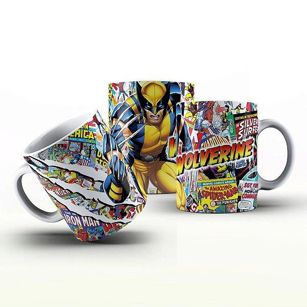 Caneca Personalizada Heróis  - Wolverine HQ