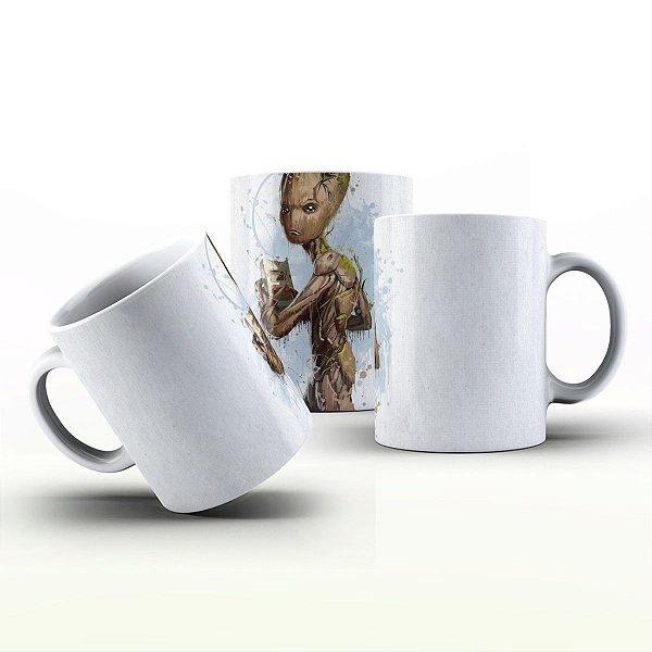 Caneca Personalizada Heróis  -  Groot