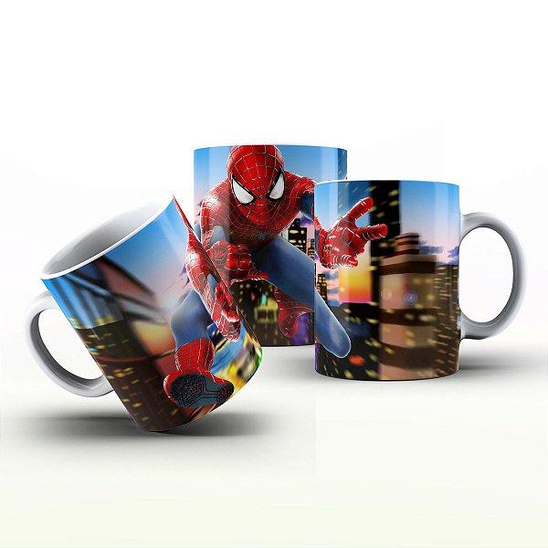 Caneca Personalizada Heróis  -  Desenho Homem Aranha