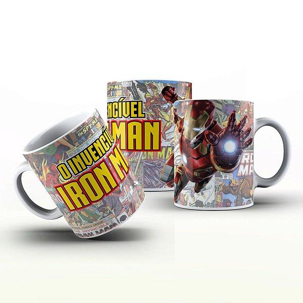Caneca Personalizada Heróis  - Invencível Iron Man