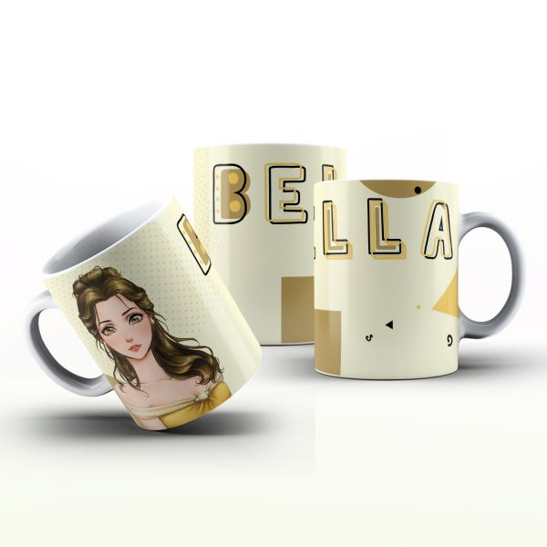 Caneca Personalizada  - Bella