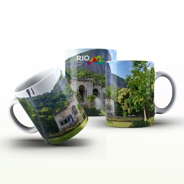 Caneca Personalizada Lugares   - Parque Laje
