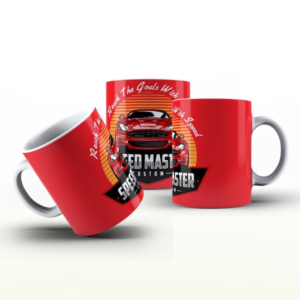 Caneca Personalizada Automóveis  - Speed Master