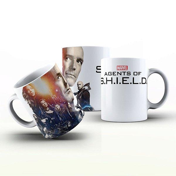 Caneca Personalizada Seriado - Agents Of  S.H.I.E.L.D.