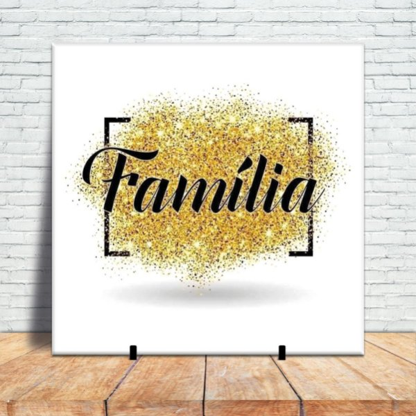 Azulejo Decorativo - Famìlia