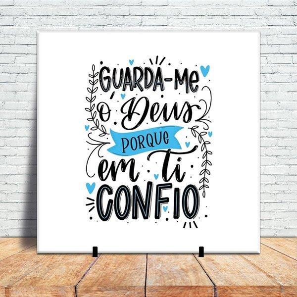 Azulejo Decorativo - Guarda-me ò Deus