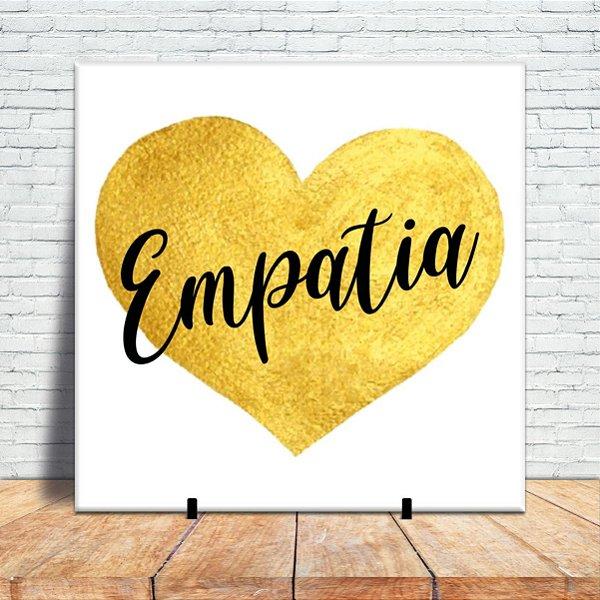 Azulejo Decorativo - Empatia é sentir