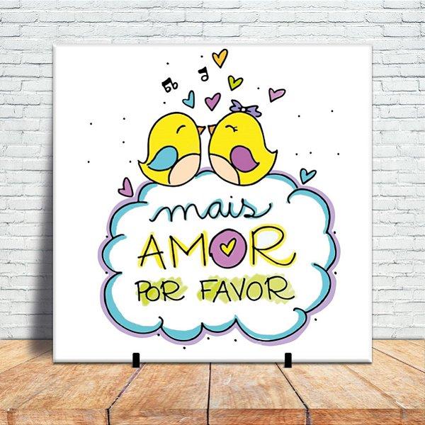 Azulejo Decorativo - Mais amor