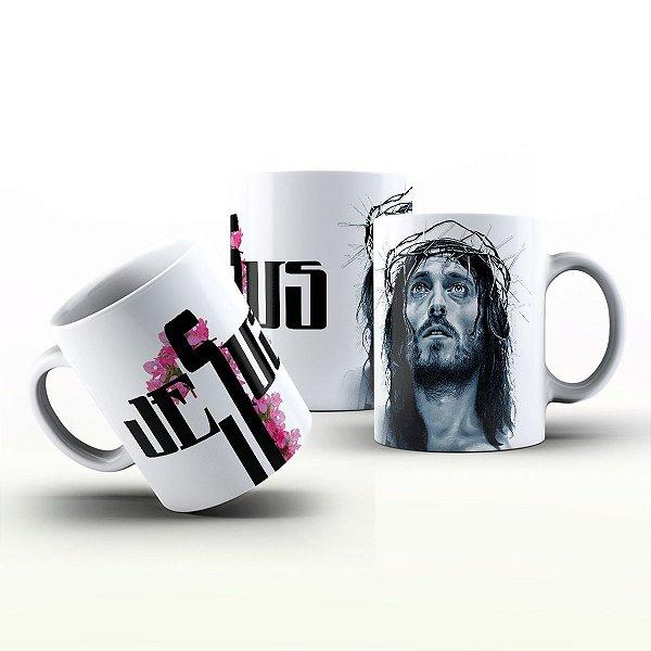 Caneca Personalizada Gospel - Jesus 3