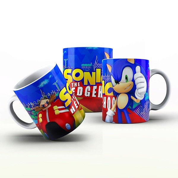 Caneca Personalizada Game - Sonic 3
