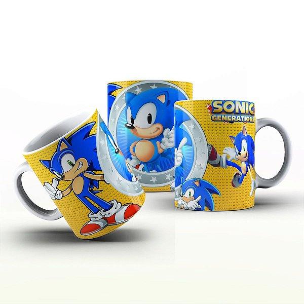 Caneca Personalizada Game - Sonic
