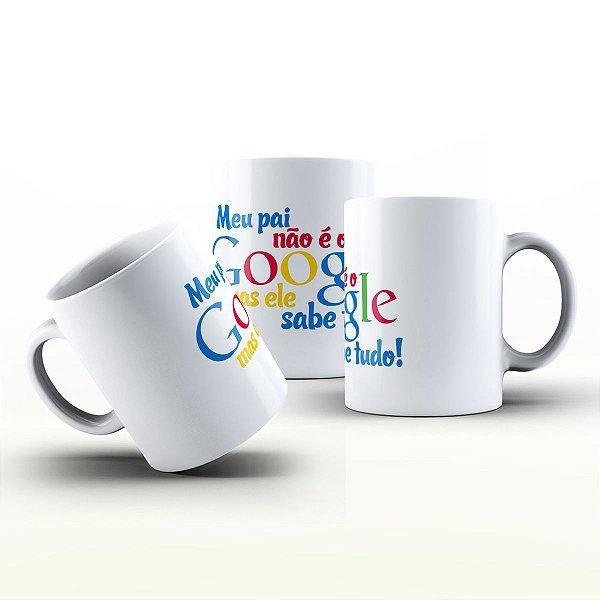 Caneca Personalizada Datas Comemorativas - Presente para o pai Google