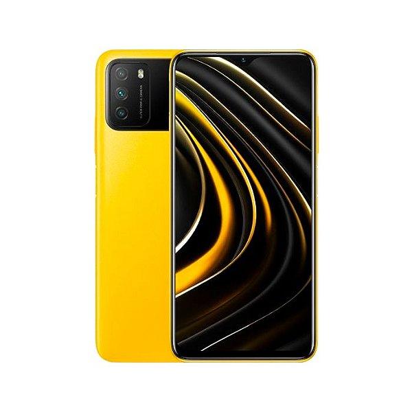 Smartphone Xiaomi Poco M3, 128GB, Versão Global, Desbloqueado