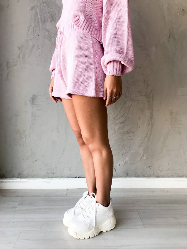 SHORT TRICOT CANDY ROSA