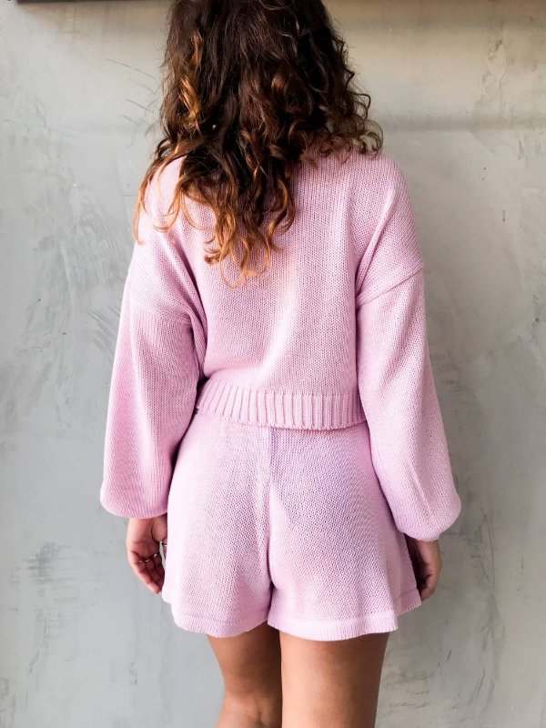 BLUSA TRICOT CANDY ROSA