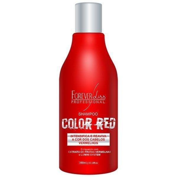 Forever Liss Shampoo Color Red Manutenção Cabelo Vermelho e Ruivo 300ml