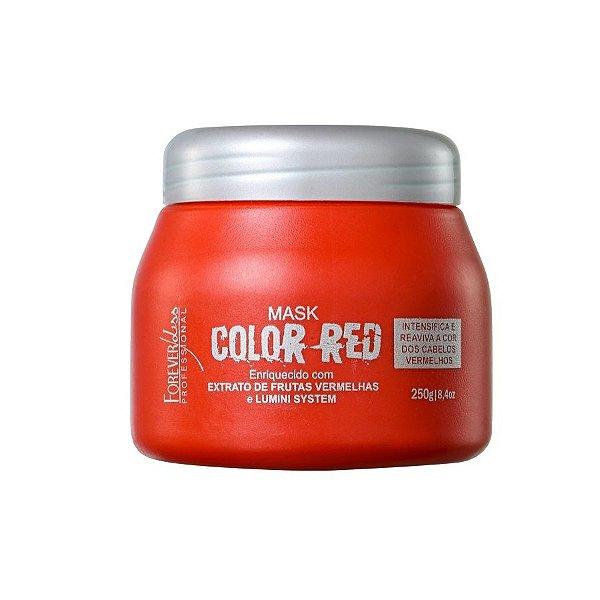 Máscara Tonalizante Color Red 250gr Forever Liss