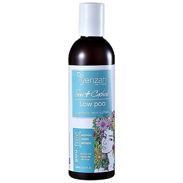 Shampoo Low Poo Sou + Cachos  240ml - Yenzah