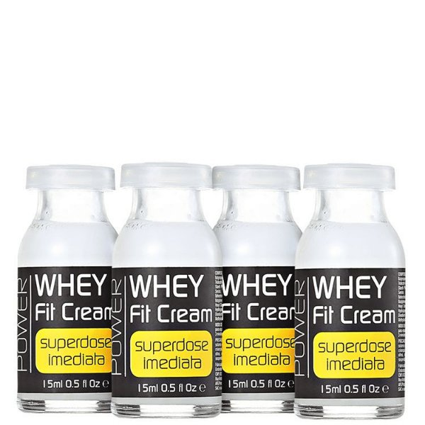 Ampola de Tratamento Whey Fit Cream  4x15ml - Yenzah