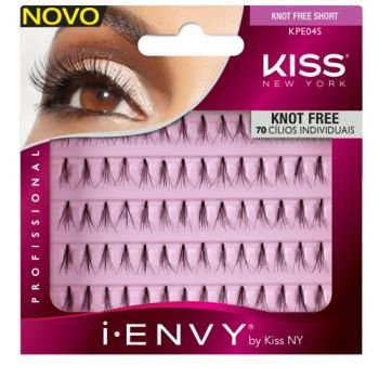 Cílios Individuais com 70 Tufos Curto -  i-Envy by Kiss New York