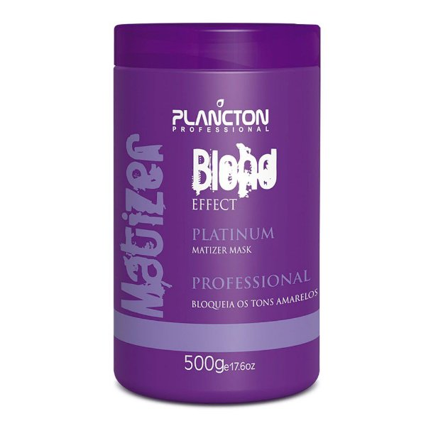 MÁSCARA MATIZER BLOND EFFECT 500G - PLANCTON