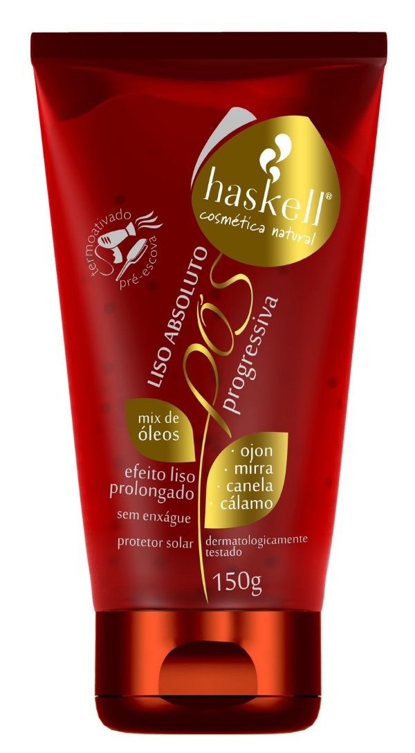 Leave in Pós Progressiva Liso Absoluto 150g - Haskell