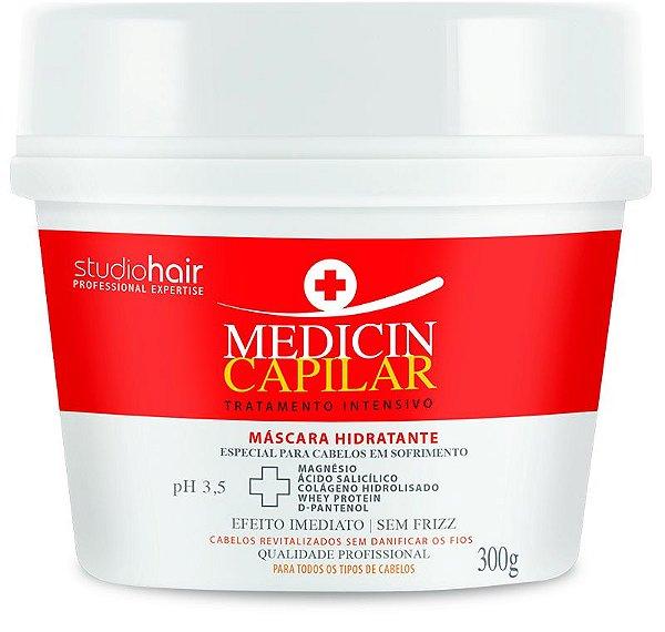 Máscara de Tratamento Intensivo Medicin Capilar 300g - Muriel