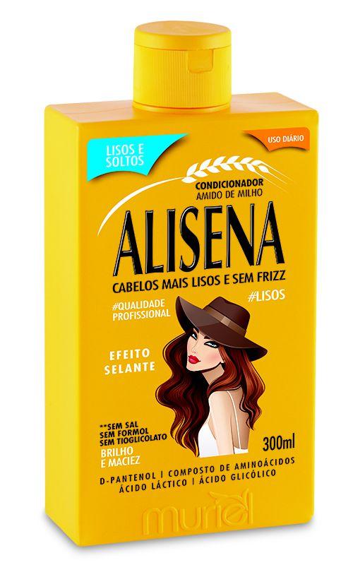 Condicionador Amido de Milho Alisena 300ml - Muriel